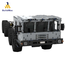 BuildMoc 8×8 Army transport vehicle Earth Military war Transport vehicle Building Blocks For Boys Military Movie Army Truck 1061 pcs building block city blocks army truck building blocks military vehicle playmobil building toy for children kids gift