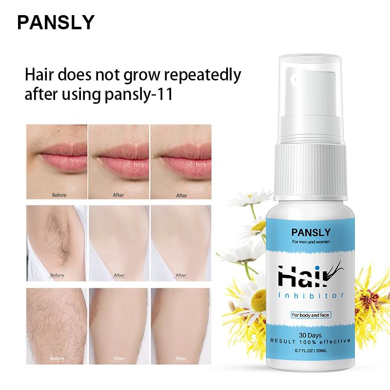 20ml Anti-Haar Wachstum Spray Sanfte Und Nicht Reizend Zu Verhindern Haar Aus Der Ganzen Körper natürliche Schnelle Entfernung Spray TSLM2