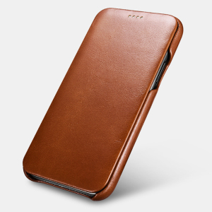 Image 3 - Original ICARER Genuine Leather Case For iPhone 11 Luxury Flip Cover Case For Apple iPhone 11 Curved Edge Vintage Folio Case
