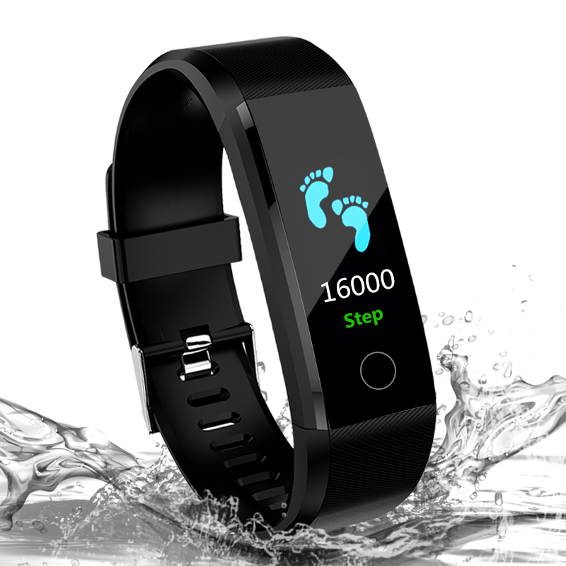Heart Rate Smart Bracelet Pressure Smart Watch Band Fitness Tracker Pedometer Wristband For Ios Android Men Sport Watch