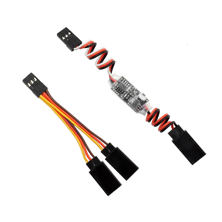 Multi-mode RC Radio Transmitter Electronic AUX Channel On/Off Switch Car LED PWM Controlled Switch Receiver Control Module Part image