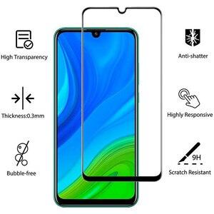 Image 3 - 1 5 Pcs Glass Case p smart 2020 2021 huawei honor 9a 3D Glass Screen Protector honor 9 c huawei p smart 2021 Tempered Glass