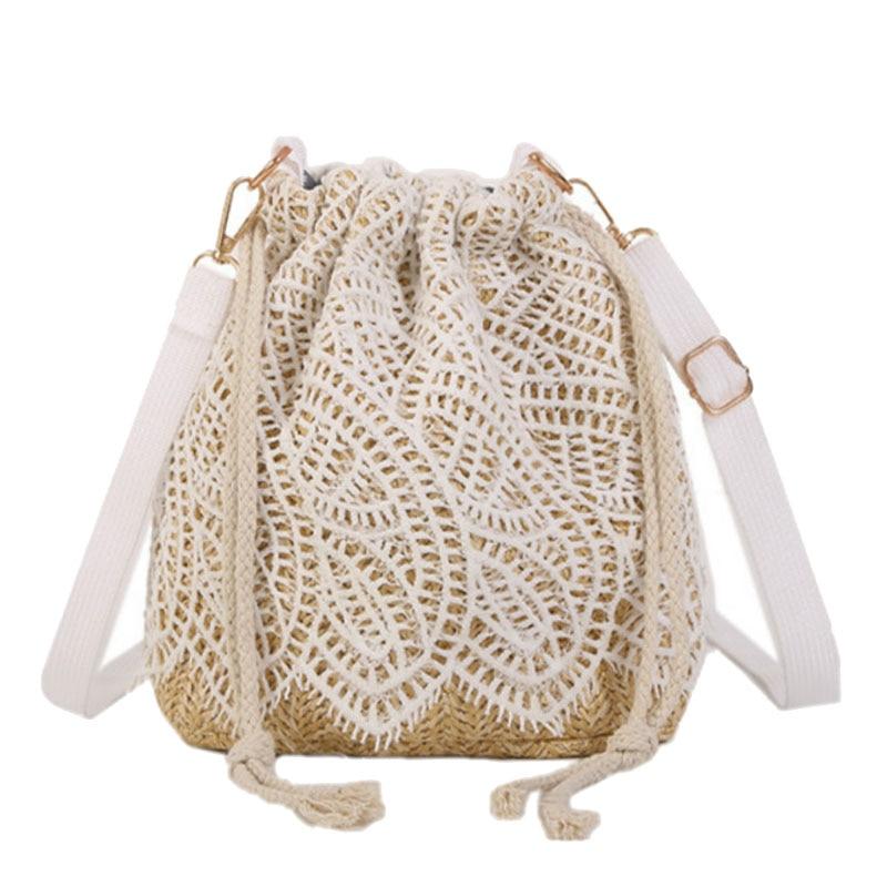 Women's Bags Female Fashion Straw Bag Trend Lace Designer Crossbody Bags For Women 2019 Women Handbag Women's Shoulder Bag