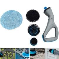 Hurricane Muscle Scrubber Electrical Cleaning Brush for Bathroom Bathtub Shower Tile Hogard