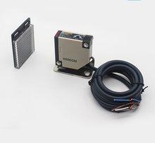 Interruptor fotoelétrico infravermelho E3JK-R4M1 12v 24v 220v 4 medidores de distância do feedback do espelho