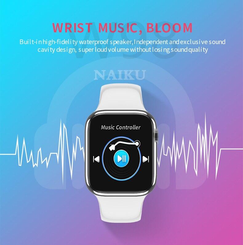monitor de freqüência cardíaca smartwatch iwo 10