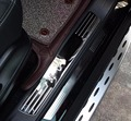 Tür Willkommen pedal abdeckungen schwelle bord aufkleber trim Zubehör retrofit kits für mercedes benz W166 GLE coupe 320 400 500-in Nerf Bars & Trittbretter aus Kraftfahrzeuge und Motorräder bei