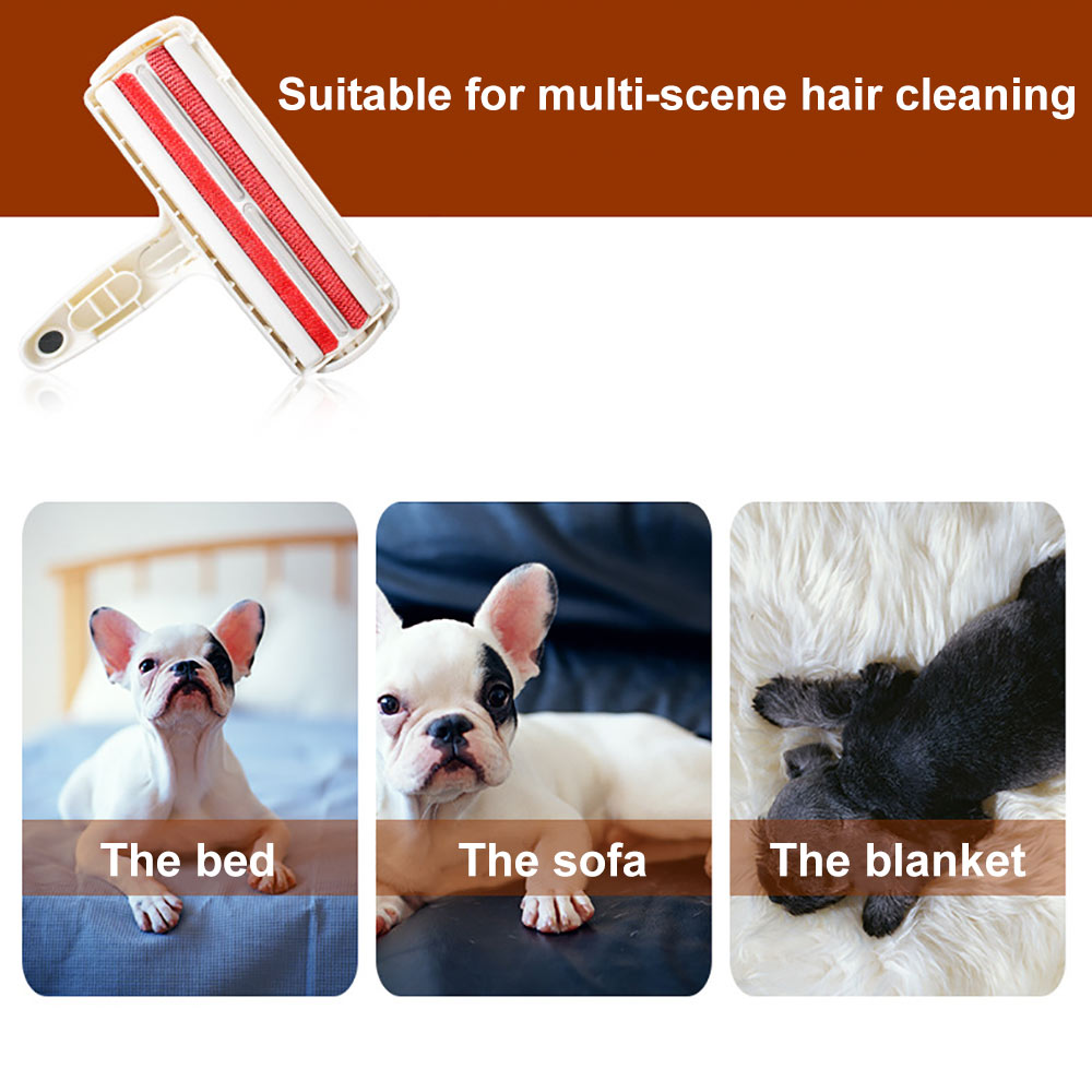 Pet Hair Remover Roller Dog Cat Hair Cleaning Brush Removing Dog Cat Hair From Furniture Carpets Clothing Self-Cleaning Lint-3