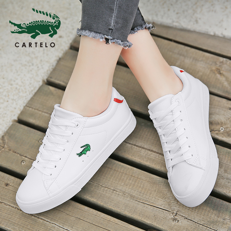 CARTELO Women's Shoes Fashion Small White Shoes Breathable Wild Shoes Flat Casual Shoes Women Zapatos De Mujer обувь женская