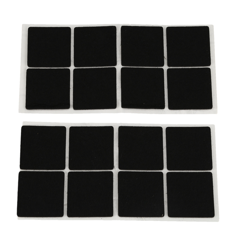Furniture Feet Antiskid Protection Pads Felt Floor Protector 16 Pcs