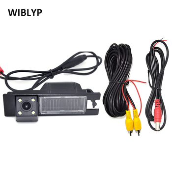 Car CCD Night 4 LED Backup Rear View Camera for Opel Astra H J Corsa Meriva Vectra Zafira Insignia FIAT Grande Buick Regal new yatour for opel astra h astra j corsa zafira vectra car mp3 player usb adapter sd aux bluetooth interface audio radio yt m06