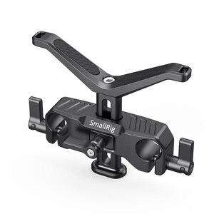 Image 2 - SmallRig para cámara Dslr lente de soporte en forma de Y 15mm LWS soporte de lente Universal con abrazadera de varilla de 15mm aparejo de soporte 2680