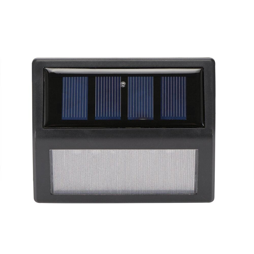 Светодиодный светильник на солнечной батарее, 6 шт., водонепроницаемый, с датчиком движения Светодиодные солнечные лампы      АлиЭкспресс