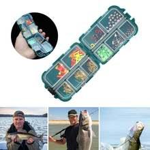 157 шт/корт Набор рыболовных принадлежностей включая джиг крючки