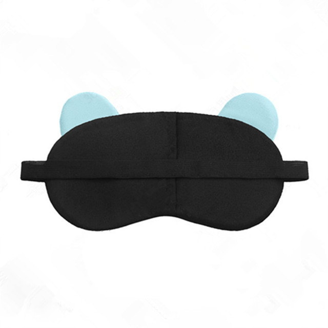 Cotton Cartoon Face Sleep Eye Mask Cute Funny Lovely Eye Cover Sleeping Mask Travel Rest Eye Band Kids Eye shade Patch Blindfold 5