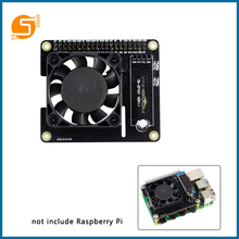 S ROBOT Raspberry Pi 4 Intelligent Control Fan Speed ??Raspberry Temperature LCD Ice Expansion Board RPI166