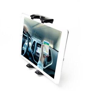 Image 4 - Vmonv Tablet Car Holder For iPad Pro 12.9 Adjustable Car Headrest Stand Back Seat Bracket Mount For 4.7 13 inch Mobile Phone PC