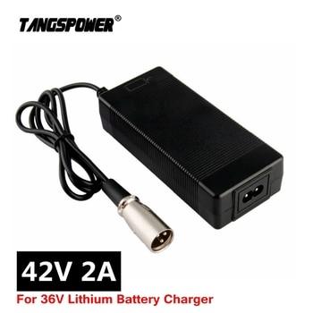 цена на 36V Charger 42V 2A electric bike lithium battery charger for 36V lithium battery pack with 3-Pin XLR Socket/connector
