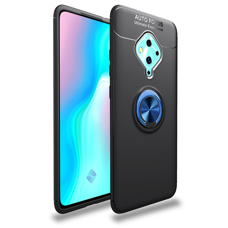 For <font><b>VIVO</b></font> <font><b>v17</b></font> S1 <font><b>Pro</b></font> Phone <font><b>Case</b></font> Luxury Magnetic Ring Bracket Back Cover For <font><b>VIVO</b></font> <font><b>v17</b></font> S1 <font><b>Pro</b></font> Soft Silicon Stand Shockproof Casing image