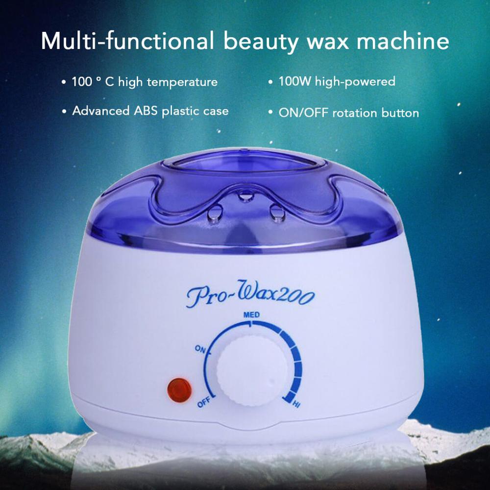 Professional Warmer Wax Heater Mini SPA Hand Epilator Feet Paraffin Wax Rechargeable Machine Body Depilatory Hair Removal Tool