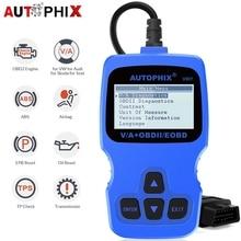 Autophix V007 OBD2 Automotive Scanner Auto Diagnostic Tool Voor Golf 4//5/6/7 T5 Polo Passat B5 B6 abs Epb Olie Reset Scan Tool