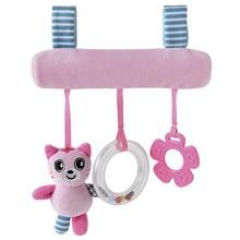5 stil Schöne Hängende Rasseln Schöne Puppe Hängen Bett Baby Kinderwagen Auto Spielzeug Niedlichen Tiere Katze Panda Gefüllt Wiegen Gute geschenk