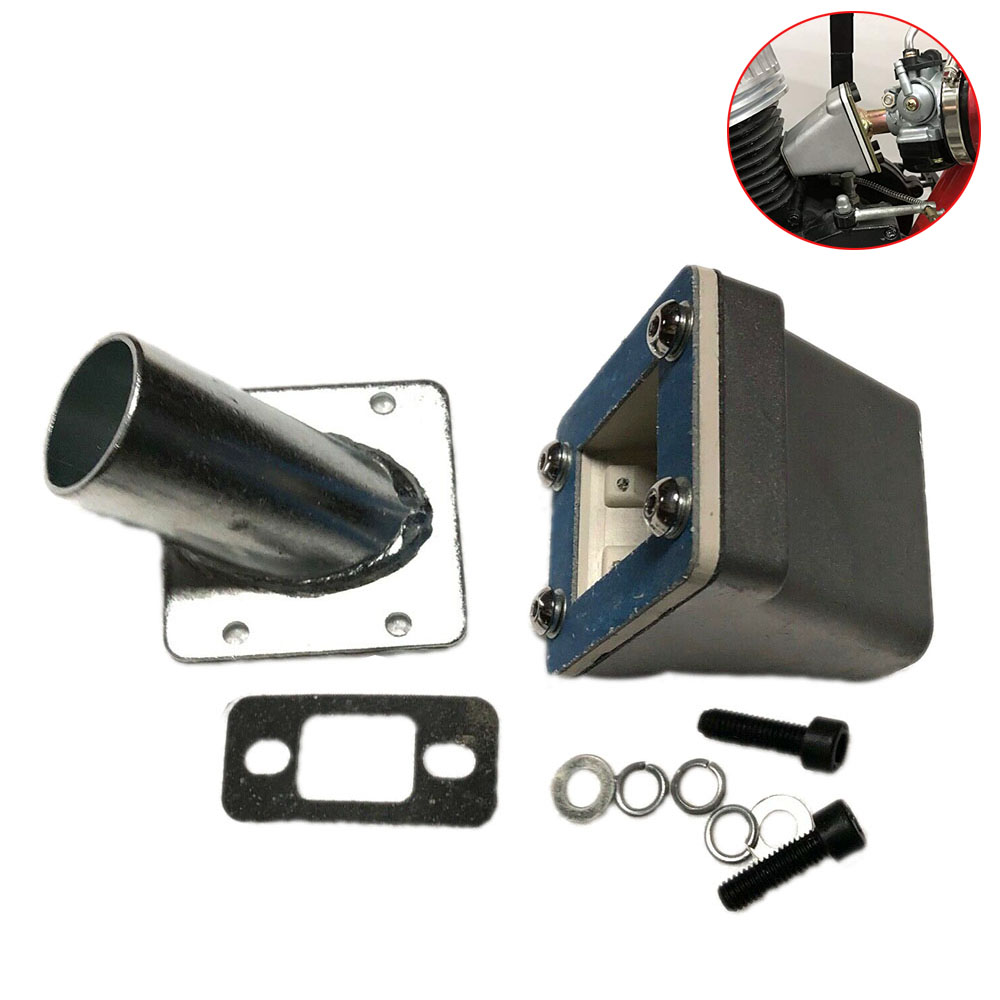 32mm Intake Manifold /& GasketSet For 80cc Bicycle Motorized Gas Engine