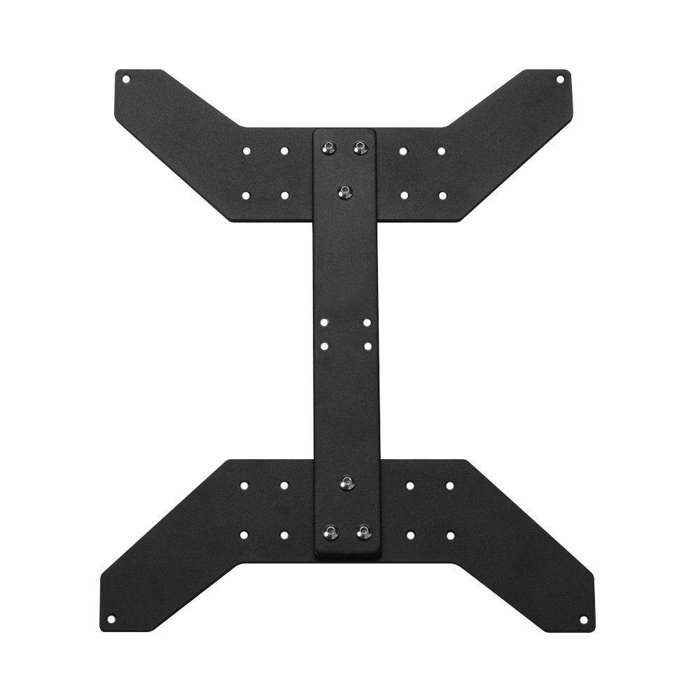 Anet Aluminum Y Carriage Plate Support Fixed Board Upgrade For Fixing 300X300MM Heating Platform E12 A8 Plus E16 Hotbed Parts