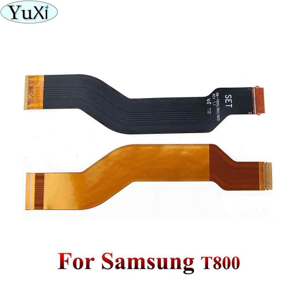 2 YuXi Para Samsung Galaxy Tab 10.1 N8000 P5100 P5110 P7510 P7500 Tab 10.5 S T800 Display LCD Conector Flex motherboard cabo