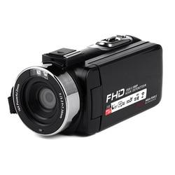 RISE-Video Camera Wifi 1080P Full Hd Portable Digital Video Camera 16X Digital Zoom 3.0 Inch Press Lcd Screen Camcorder