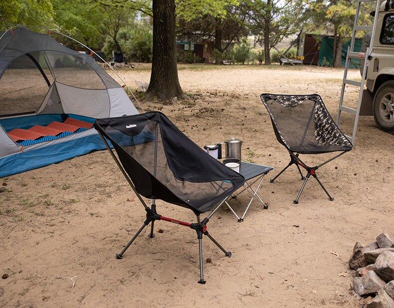 Naturehike открытый складной стул Сверхлегкий портативный высокой нагрузки Рыбалка сиденье Кемпинг Туризм пляж путешествия Пикник стулья