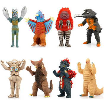15cm Kaiju Ultraman Monster Model Action figure Pigmon Antlar Red king Gomora King Joe Birdon Belokuron Toy collection gift altman soft glue ultraman monster superman toy king gogira action figure collection model children s doll movement joint movable