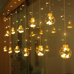 Wishing Ball Curtain Light Str