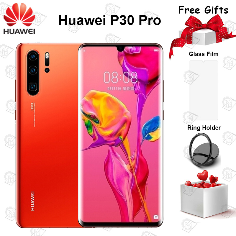 Orignal Huawei P30 Pro Mobile Phone 6.47inch OLED Full Screen 8G+128G Kirin 980 Octa Core Android 9.0 40W SuperCharge Smartphone|Cellphones| - AliExpress