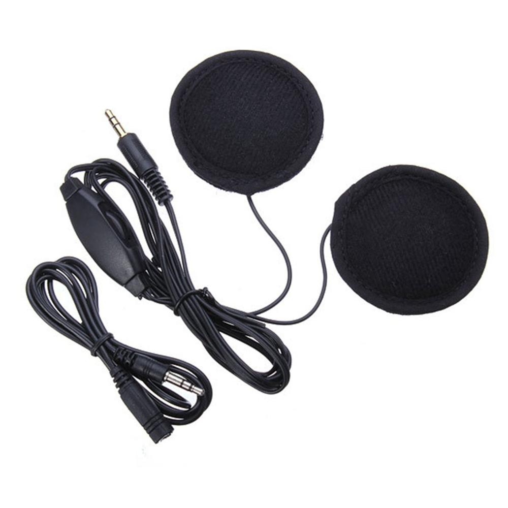 CS-083 Universal Plastic Headset Helmet Mp3 Headphone Headset GPS Navigation 3.5MM Plug For Motorcycle