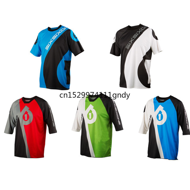 Hot Sell 2020 SixSixOne 661 Motorcycle Jerseys Motocross MTB DH MX Jersey Bicycle Cycling Bike Downhill Jersey FG
