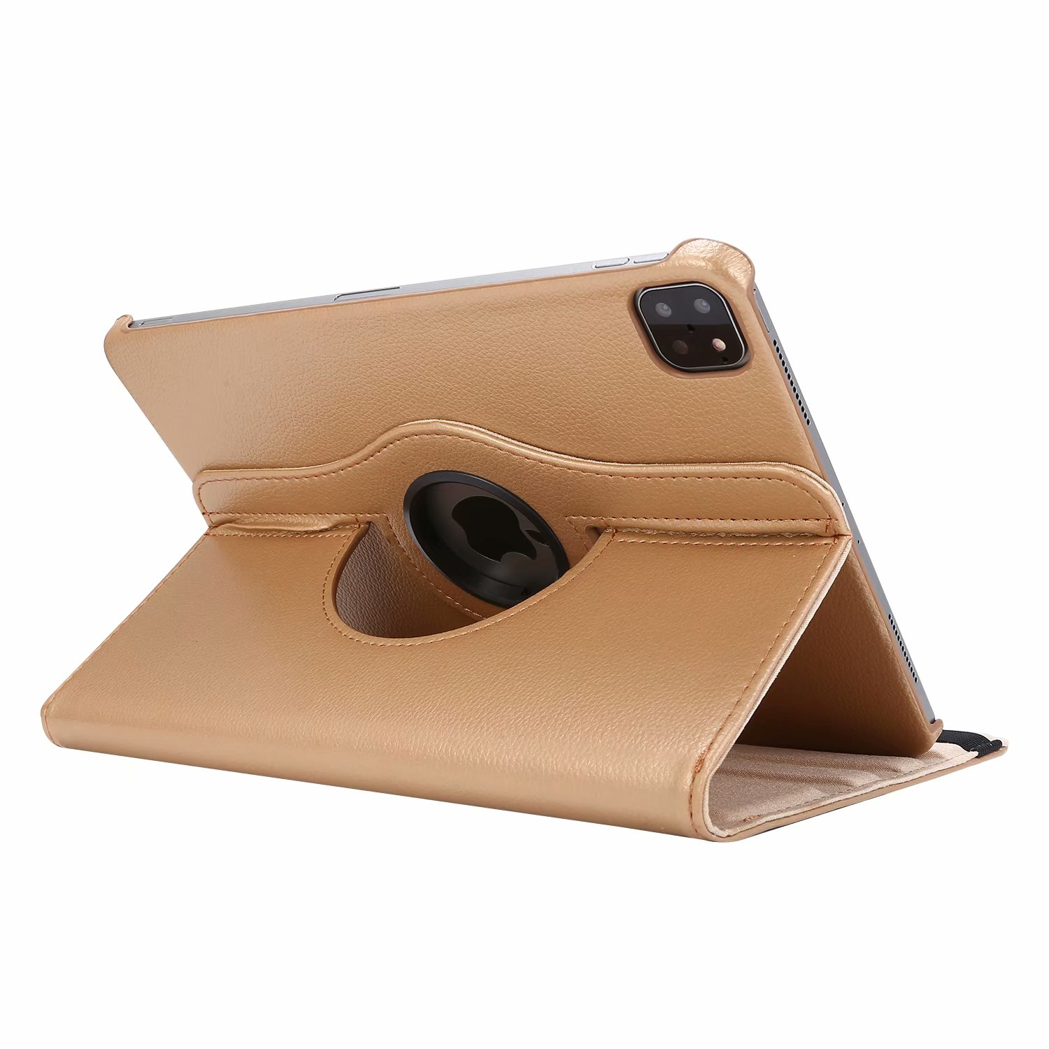 Gold Gold Case for iPad Pro 11 Cover 2021 2020 2018 A2228 A2068 A2230 A2013 A1934 A1980 360