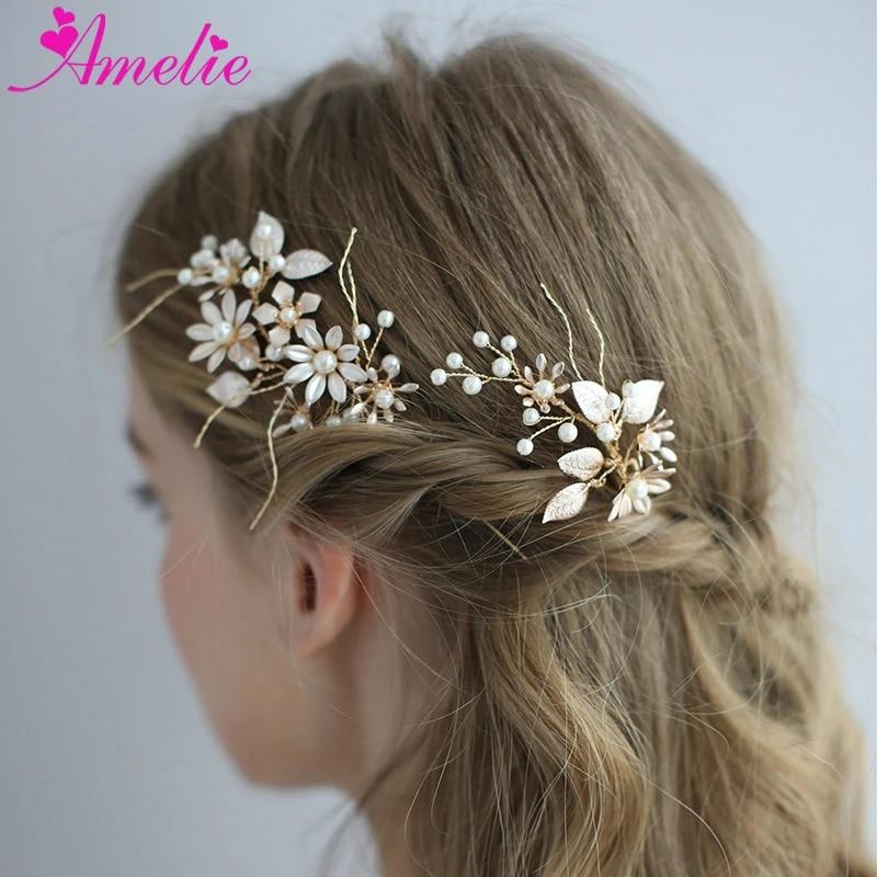 Wedding hair comb Floral Hair comb Bridal accessories Hair flowers Handmade hair comb Wedding comb Bridal hair fashion accessories