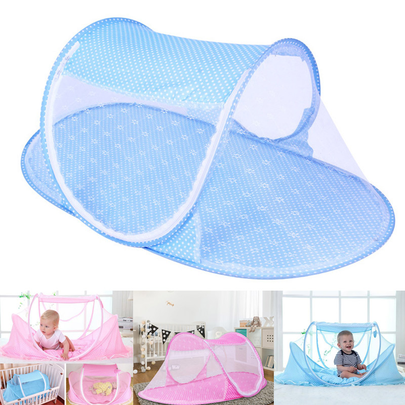 Foldable Baby Mosquito Net Tent Netting Portable For Crib Cot Bedroom Outdoor New Design