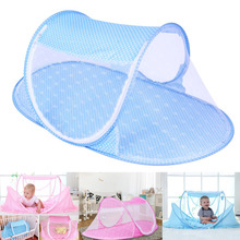 Hot Foldable Baby Mosquito Net Tent Netting Portable For Crib Cot Bedroom Outdoor New Design