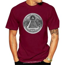 Annuit Coeptis Pyramid Eye Illuminati Cash - Mens Cotton T-Shirt New Fashion Mens Short Sleeve T Shirt Cotton T Shirts