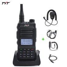 Rádio em dois sentidos portátil da frequência ultraelevada/vhf portátil do rádio fm TH-UV88-136 mhz & 174-400 mhz da faixa dupla de tyt 480 walkie tyt do talkie vox