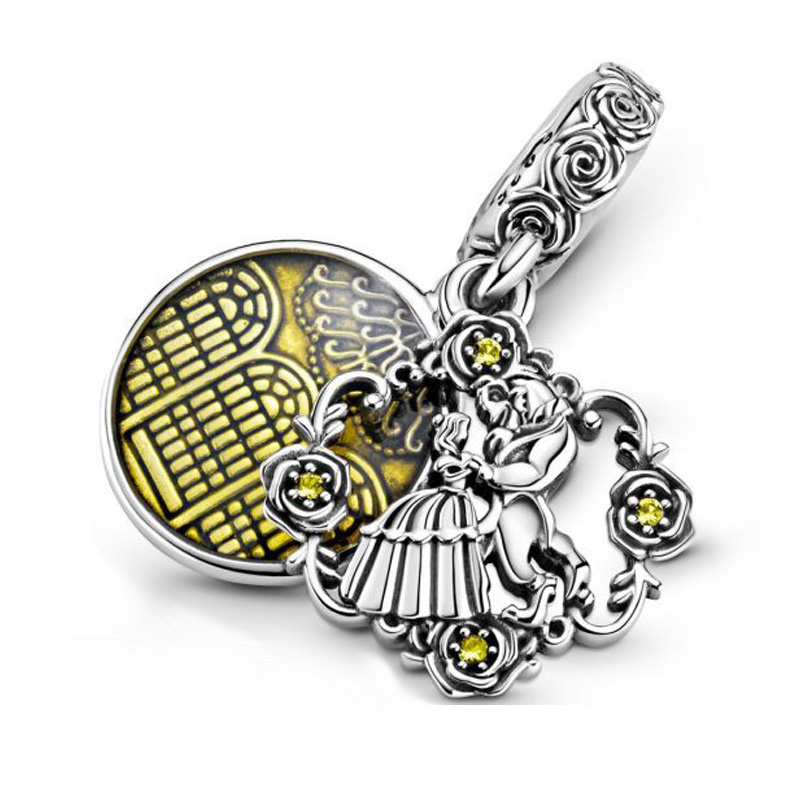 2020 Summer New Silver Color Pendant Beauty And Beast Dangle Charm Fit Original Pandora Bracelets Women Diy Jewelry Buy Inexpensively In The Online Store With Delivery Price Comparison Specifications Photos