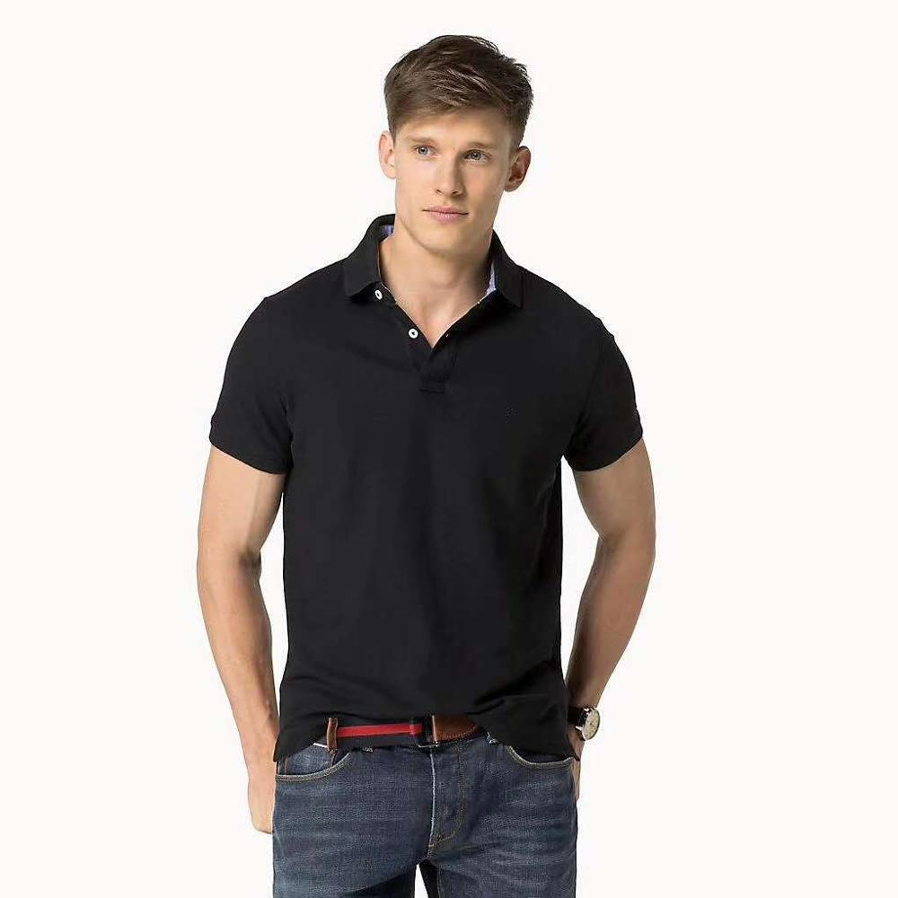 Hombre Top Tommi Fit Slim Polo Shirt Men Short Sleeve Shirt Camisa Masculine High Quality Homme Asia Size