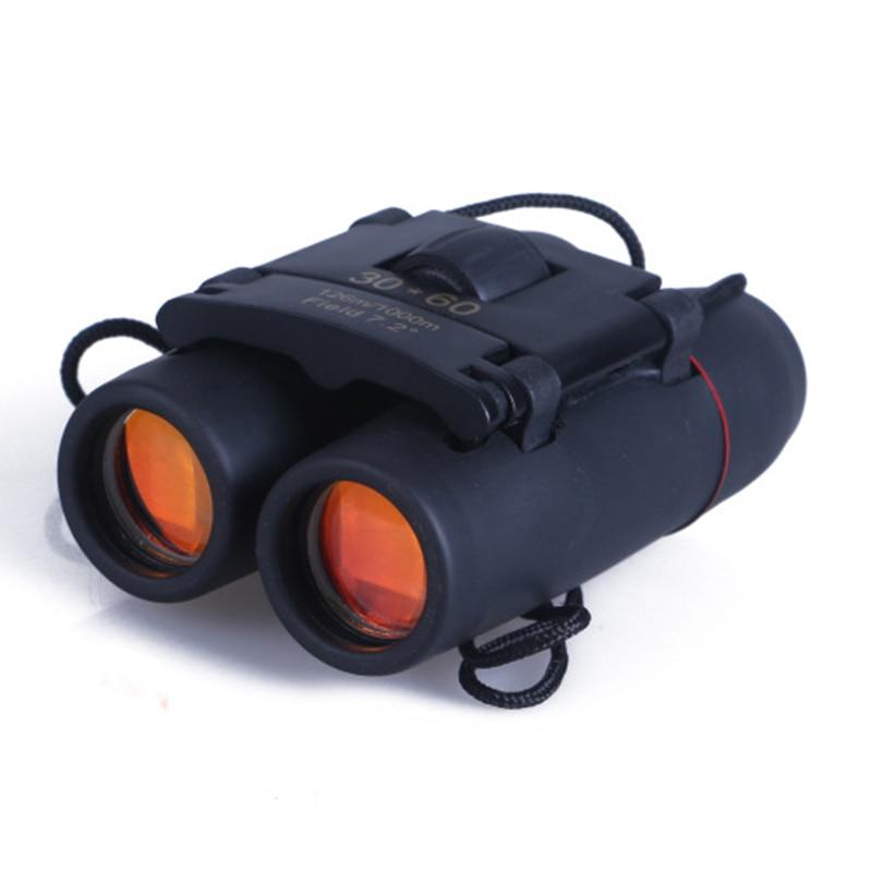 30x60 Zoom Binoculars Day Night Vision Hd Pocket Binoculars Hunting Optics Binoculars 126M/1000M Field High Clarity Telescope