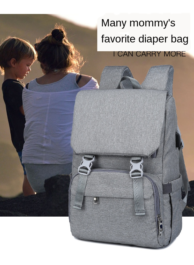 Umaubaby Mummy Maternity Nappy Bag USB Diaper Bag Mummy Large Capacity Stroller Bag Backpack Nursing Bag For Baby Care