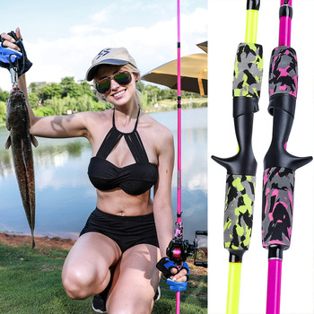 Best Sougayilang 5 Section Portable Travel Fishing Rod Ultralight Weight Fishing Rods cb5feb1b7314637725a2e7: Black black black black black Fluorescent yellow Fluorescent yellow Fluorescent yellow Pink pink pink pink yellow pink yellow yellow pink yellow pink
