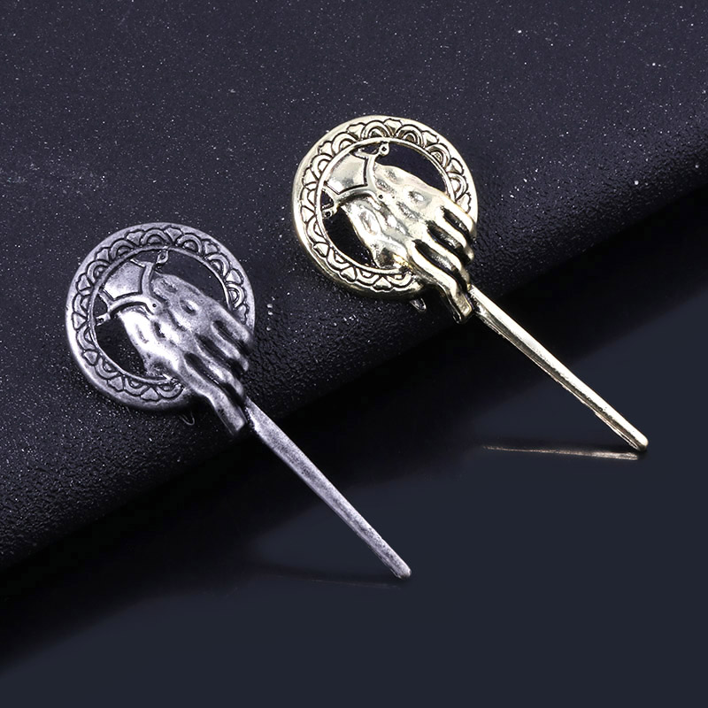 fashion jewelry Game of Thrones Song of Ice and Fire Brooch Hand of the King Lapel Inspired Authentic Prop Pin Badge Brooches image