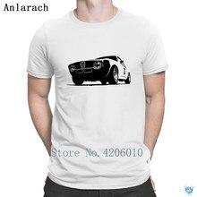 Camiseta de corredor Alfa Romeo Gta Vintage regalo Super diseño eslogan camiseta para hombres ropa algodón verano estilo Anlarach fotos