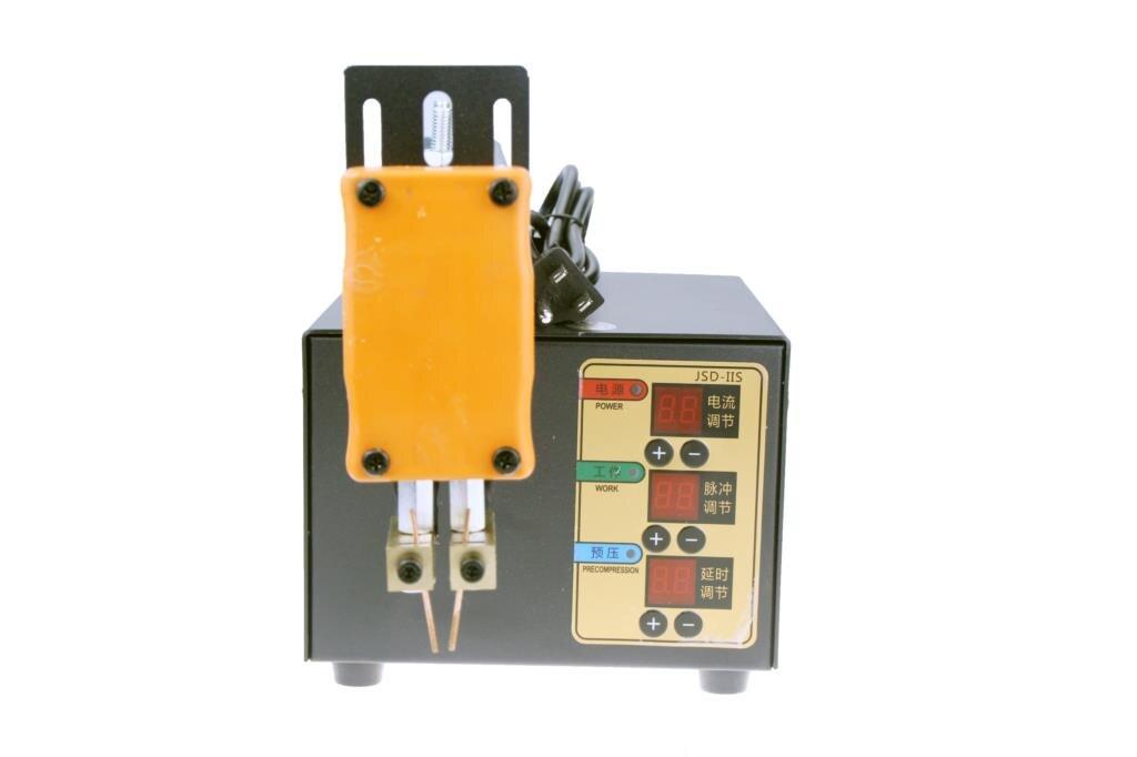 JST-IIS New 3KW High Power Spot Welder For 18650 Lithium Battery Pack Weld Precision Pulse Spot Welding Machine 110V 220V